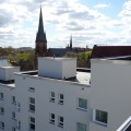 Dachansicht (Uhlandstr. 103, Wilhelmsaue 21-23, Berlinerstr. 138)