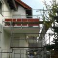 Sanierung 6 Eigentumswohnungen Büttelborn (Anbringung neuer Geläner)