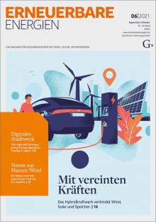 Deckblatt Ausgabe 06 2021 Erneuerbare Energien