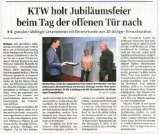 30 Jahre KTW (TA vom 04.06.2020)