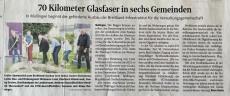 Spatenstich zum Glasfaser-/Breitbandausbau mit der Thüringer Netkom in der KTW am 22.07.2021