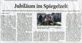 Jubiläum im Spiegelzelt 07.09.2019 TLZ Weimar