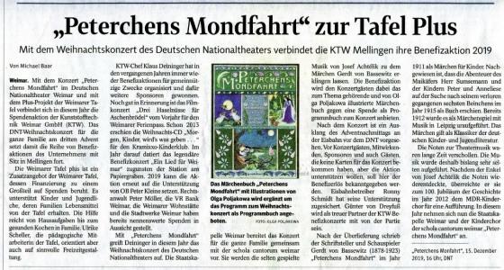 Peterchens Mondfahrt KTW-Benefiz-Aktion 2019