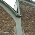 Ziegel-Fassade